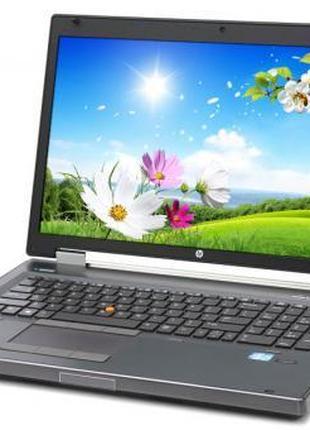 """Ноутбук HP EliteBook 8770W 17"""" HD+ i5 12GB RAM 500GB HDD"""