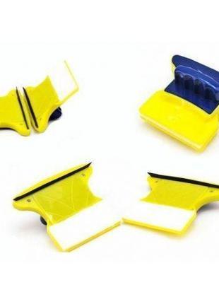 Магнитная щетка для мытья окон Double Faced Glass Clean