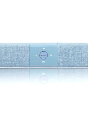 Беспроводная портативная Bluetooth колонка Hopestar A3 голубая