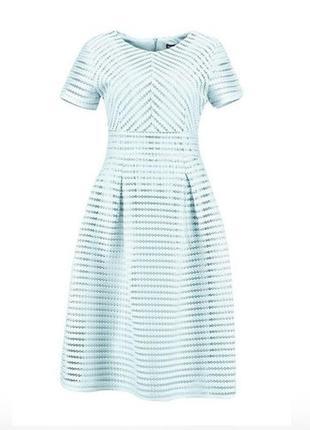 Платье нарядное вечерние выпускное нежно-голубое небесно- голу...