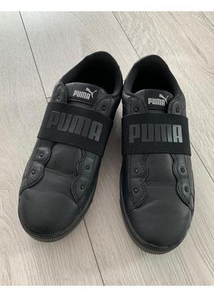 Кеди, кросівки, снікерси, спортивне взуття чорне від puma.