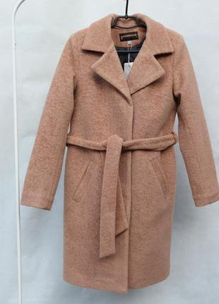 Шикарное зимнее пальто из альпаки