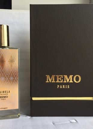 Memo Lalibela _Распив и Отливанты аромата Original Eau de Parfum