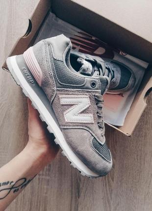 New balance 574 gray! шикарные женские кроссовки 😍 (весна/ лет...
