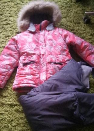 Теплющий комплект, зимний костюм