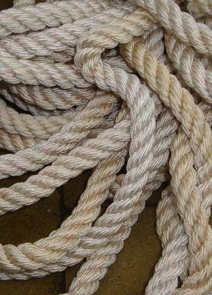 Канат. Веревка 8-10-12 мм.