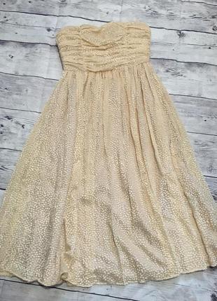 Платье пышное,миди,корсет,на выпускной,вечер