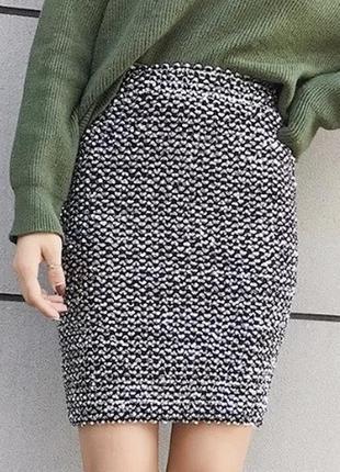 Роскошная юбка , пайетки , блестящая , zara , высокая посадка