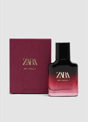 Zara red vanilla , туалетная вода , парфюм , оригинал ,зара