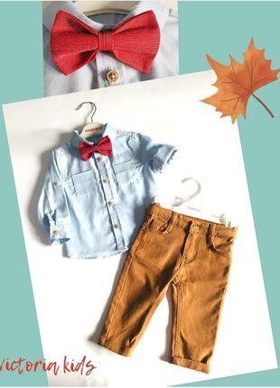 Детская одежда с 0 до 2 лет, костюм, рубашка, штанишки, свитшот
