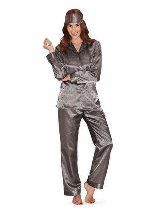 Шелковистые пижамные штаны для дома и отдыха от tcm tchibo, ге...