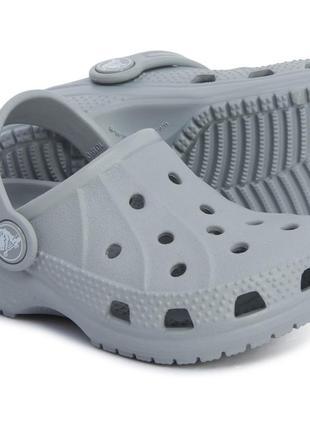 Детские кроксы crocs ralen clog оригинал usa j1 32-33