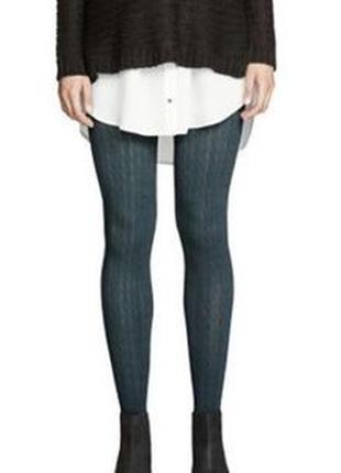 Тёплые штаны лосины леггинсы трикотаж  натуральная вискоза , с...