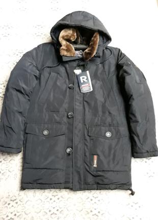 Зимняя мужская курткаRemain