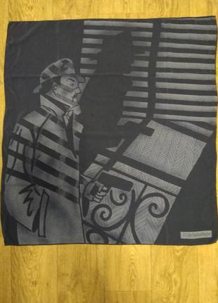 Дизайнерский шелковый платок от j. c. de castelbajac