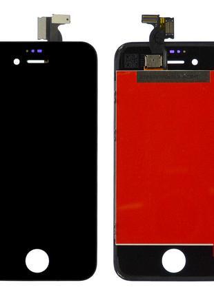Дисплей для iPhone 4s с сенсором (Black) Original PRC в рамке