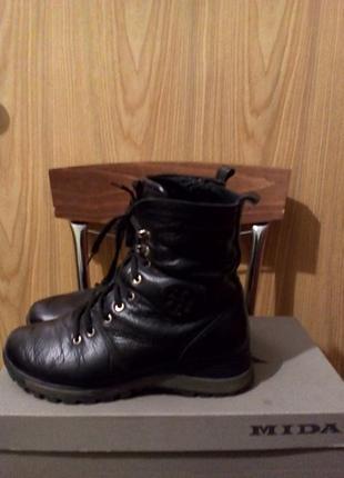 Ботинки кожа/ботинки зима/ ботинки натуральные