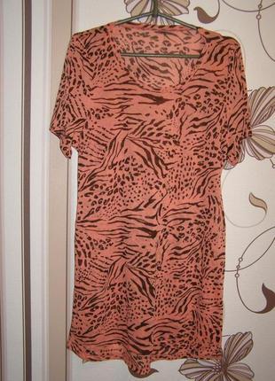 Пляжное платье, туника, р. с-м