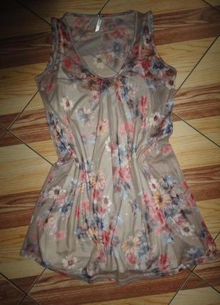 Красивая блуза-туника