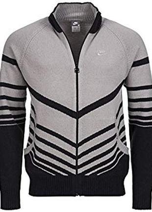 Стильный шерстяной свитер два боковых кармана nike ®