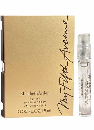 Elizabeth arden my fifth avenue, edp, 1,5 ml пробники, оригинал.