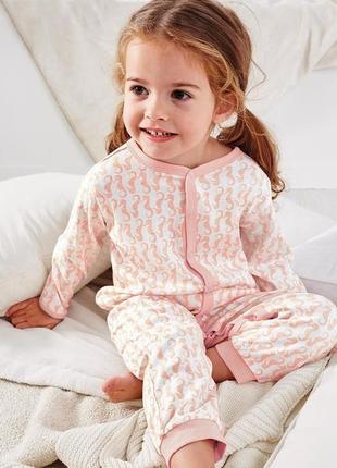 Комбинезон-пижама из органического хлопка tchibo, германия, р....