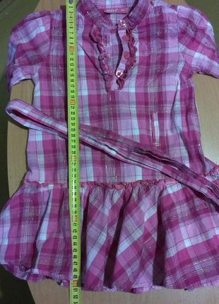 Легкое платье трансформер 104 см.