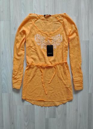 Тонкая женская блуза размер 46
