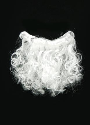 Борода Деда Мороза 20см маленькая 545544797