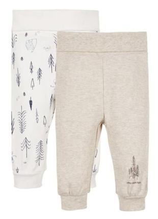 Набор штаны ползунки lupilu 86-92