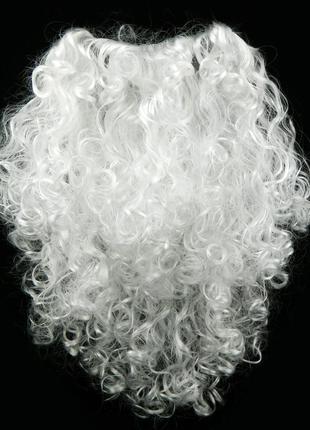Борода Деда Мороза 50см большая 1034555950