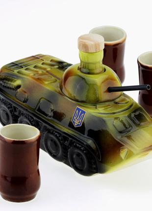 Подарочный набор 33 wishes БТР танк 7 предметов (KE52) 1254726731