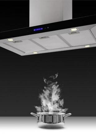 Сенсорная Вытяжка Мощная Madonna 90 cm 500 m³/h кухня студия Г...