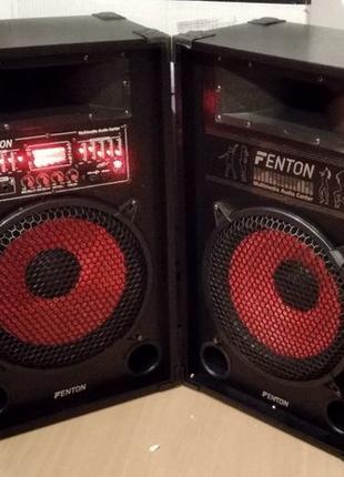 Активные колонки Fenton SPA-1200 1х12дюйм 1200втСупер Звук Нов...