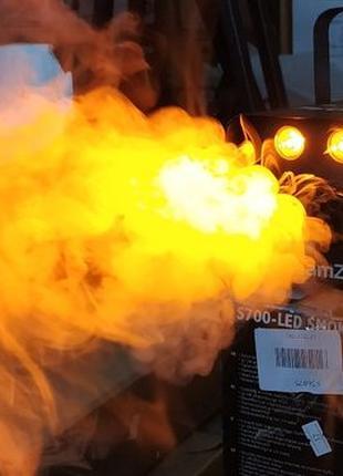 Дым машина BEAMZ S700LS 75М³/МИН 700ВТ+Подсв Новая Привезена с...