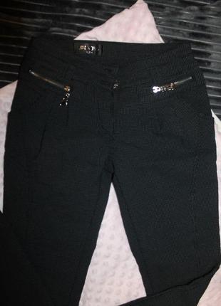 Теплые черные штаны