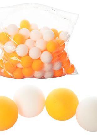 Теннисные шарики MS 0451 (2880шт) 40мм, PP, шовный, 1 упаковка...