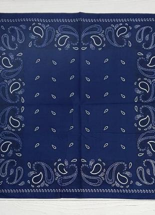 Бандана оригинальная индиго синий в наличии