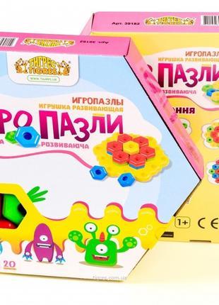 """Игрушка развивающая """"Игро пазлы"""" 20 эл."""