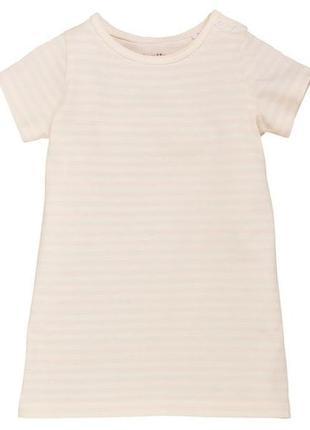 Платье туника lupilu® pure collection 74-80