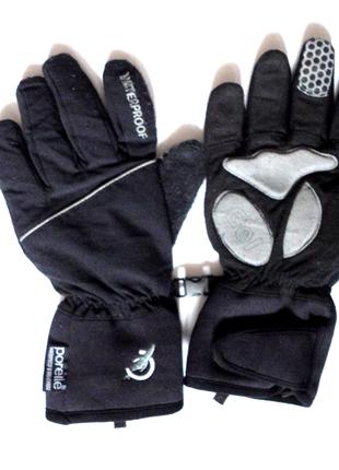 Мужские перчатки для спорта гель кожа р.м