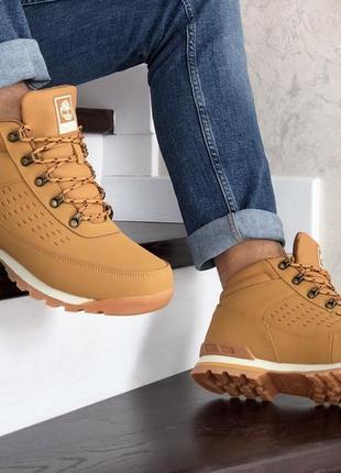 Тёплые зимние мужские ботинки на меху