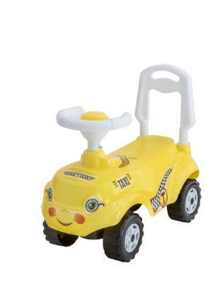 Машина-Каталка МИКРОКАР Желтый (такси)
