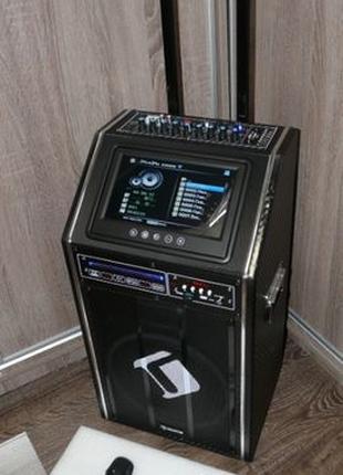 Супер звук Активная колонка на АКБ 300вт Auna DisGo Box DVD Ге...