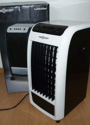 Воздухоохладитель вентилятор 4в1 OneConcept 70Вт 400м³ Новый Г...