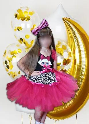 Карнавальный новогодний костюм кукла лол дива