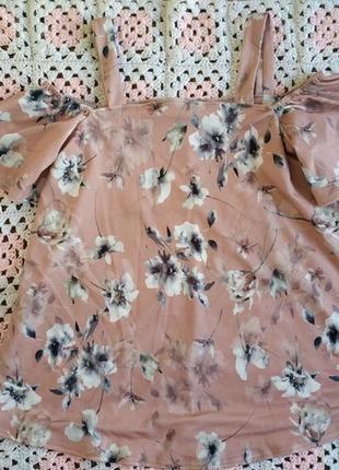 Розкошная блузка с открытыми плечами by very