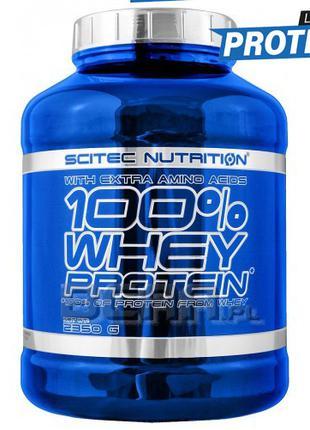 Протеин сывороточный Scitec Nutrition 100% Whey Protein (2350 gr)