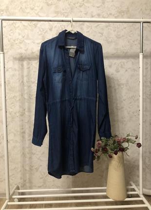 Джинсовое платье рубашка cedarwood state, новое!