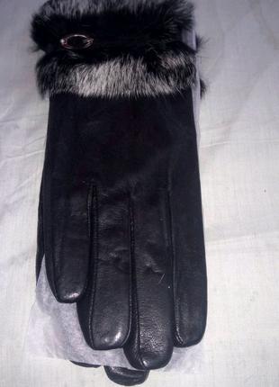 Продам перчатки кожа